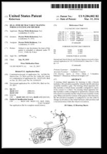 Patent No. 9,284,002